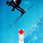 札幌オリンピック 公式ポスター(モデル 大杖 正彦)